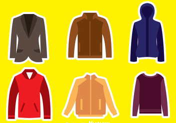 Jacket Collection - vector gratuit #341975