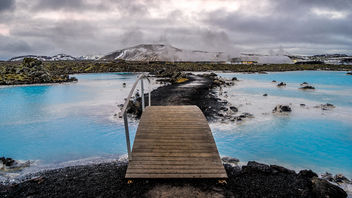 The blue lagoon - Iceland - Travel photography - Kostenloses image #342045