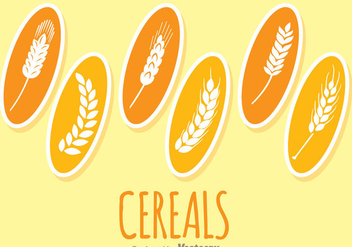 Cereals Plants - vector gratuit #342305