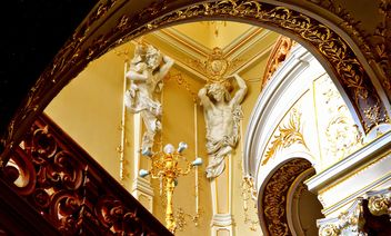 The interior of the Odessa Opera House - бесплатный image #342585