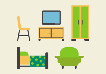 Free Kids Room Vector Icons #17 - Kostenloses vector #342695