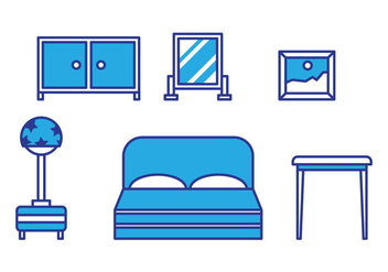 Free Kids Room Vector Icons #9 - vector gratuit #342775