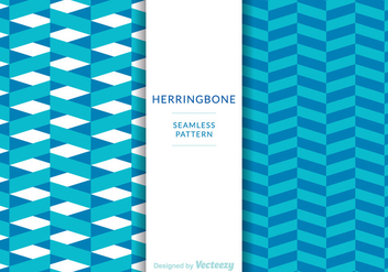 Free Herringbone Patterns Vector - Kostenloses vector #342965