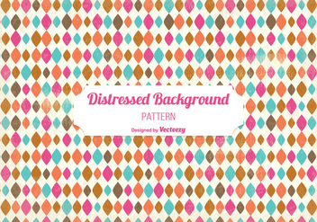 Distressed Pattern Background - vector gratuit #343045