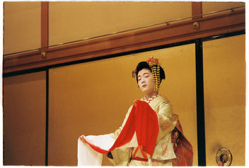 Maiko performing in Kyoto - Free image #343295