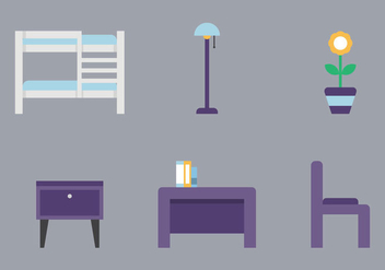 Free Kids Room Vector Icons #5 - vector gratuit #343785