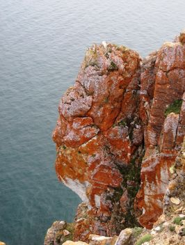 Cape khoboy on olkhon island, lake Baikal - бесплатный image #343985