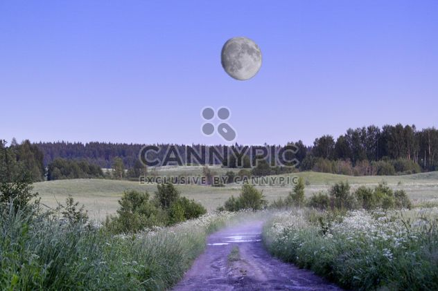 Moon sky landscape astronomy - Free image #344175