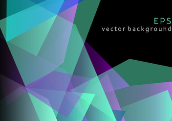 Geometric colorful background - vector #344305 gratis