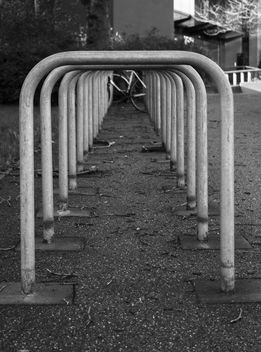 Bike rack patterns - Free image #344405