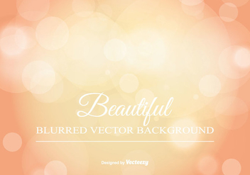 Beautiful Blurred Bokeh Background - vector gratuit #344935
