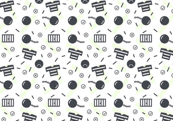 Free Robber and Police Patterns #2 - бесплатный vector #345195