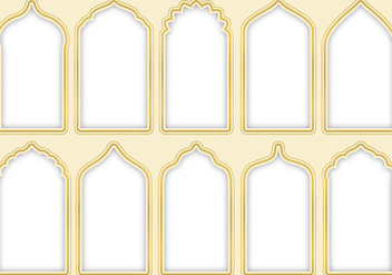 Arabesque Gates - Free vector #345265