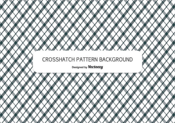 Crosshatch Style Pattern Background - vector gratuit #345295