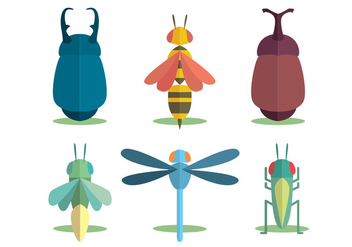 Insect Vector Set - vector gratuit #345415