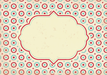 Old Retro Style Background - vector gratuit #345965