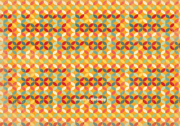 Old Retro Pattern Background Illustration - Free vector #346385