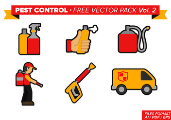 Pest Control Free Vector Pack Vol. 2 - vector #346395 gratis