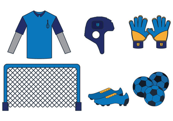 Goal Keeper Vector - Free vector #346455