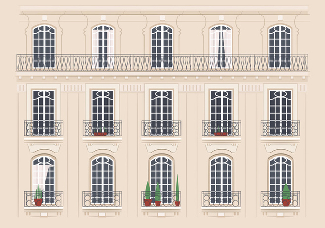Illustration de l'architecture - vector gratuit #346715