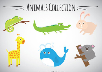 Animals Collection - бесплатный vector #347335