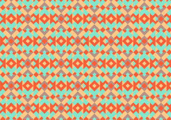 Native american pattern background - vector gratuit #347395