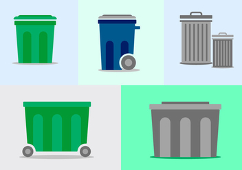 Free Dumpster Vector Pack - Kostenloses vector #347465
