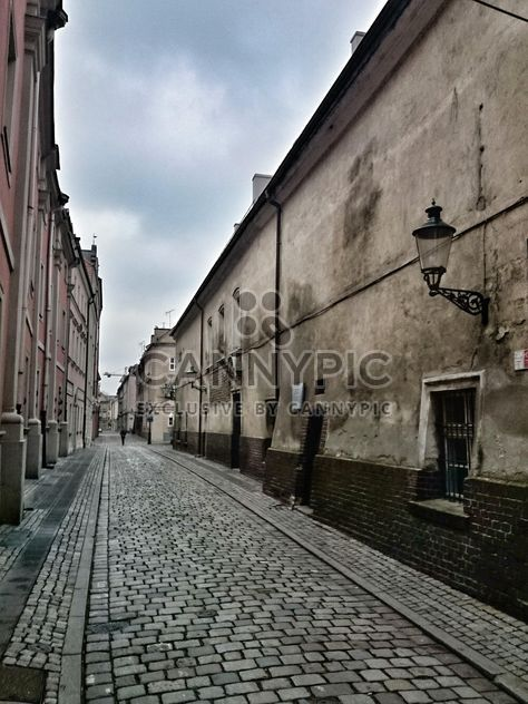 Architecture on old street of Poznan, Poland - Free image #347785