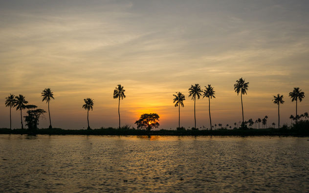 Sunset in ernakulam, kerala - бесплатный image #347895