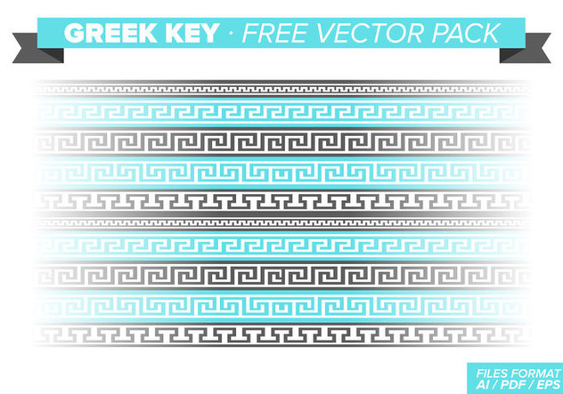 Greek Key Free Vector Pack - Free vector #348165