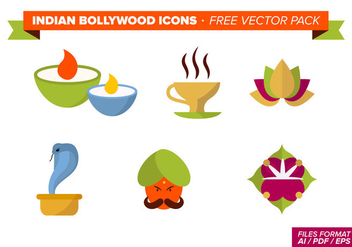 Indian Bollywood Free Vector Pack - Kostenloses vector #348305