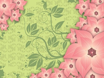 Floral Texture Swirls Background - Free vector #348535