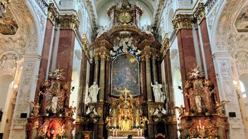 View on church altar - Free image #348635