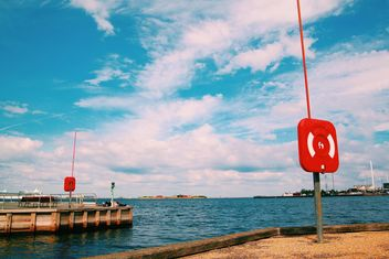 View on pier in Copenhagen, Denmark - image #348645 gratis