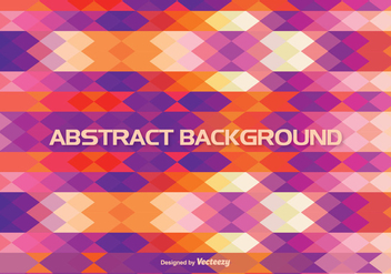 Colorful Abstract Style Background - vector #348755 gratis