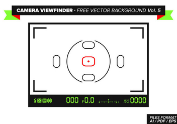 Camera Viewfinder Free Vector Background Vol. 5 - бесплатный vector #348845