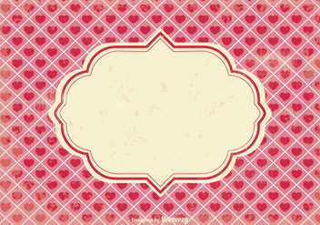 Valentine's Day Scrap Background - vector gratuit #349015