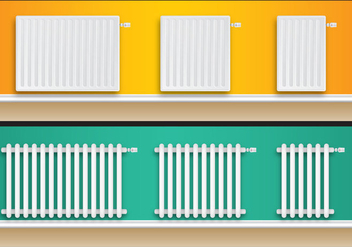 Home Radiators - vector #349325 gratis