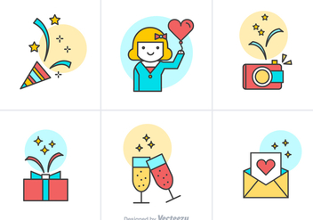 Free Party Vector Icons - vector #349535 gratis