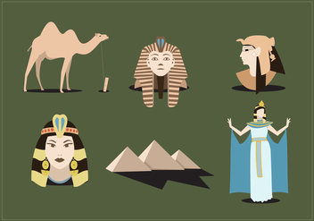 Ancient Egypt Vector - vector gratuit #349555