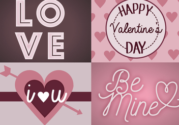 Free Valentines Day Vector - Free vector #349775