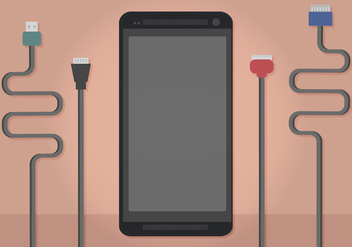 Vector Phone Chargers - vector gratuit #349955