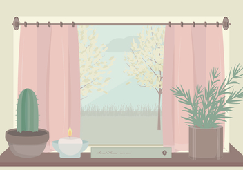 Vector Window Illustration - Kostenloses vector #350035