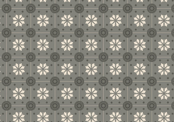 Grey Mosaic Pattern Vector - бесплатный vector #352315