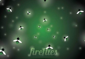 Firefly Vector Background - Free vector #352345
