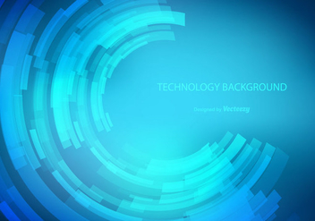 Technology Vector Background - vector gratuit #352365