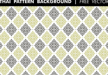 Thai Pattern Background Free Vector - бесплатный vector #352425