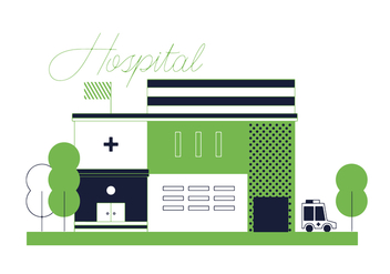 Free Hospital Vector - Free vector #352555