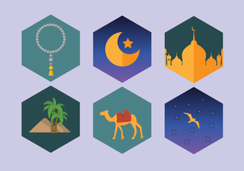 Arabian Night Vector - бесплатный vector #352965