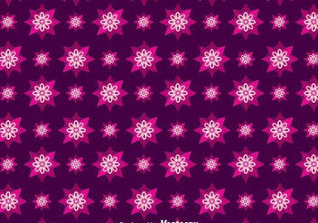 Purple Batik Background Vector - vector gratuit #353325